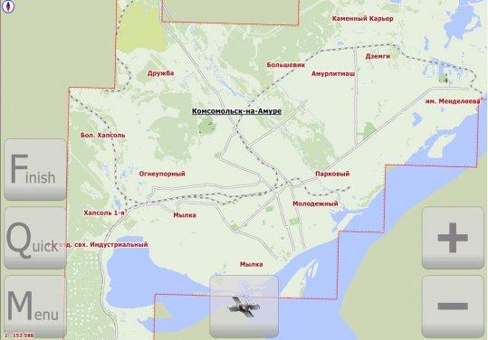 Комсомольск-На-Амуре (v. 1.4 от 15 июня 2010г.)