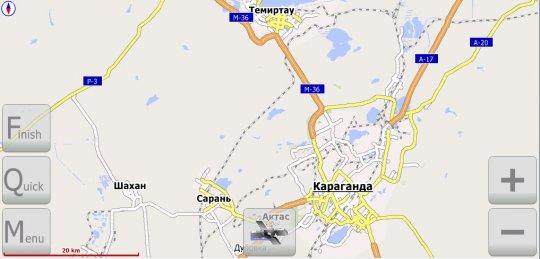Карагандинская обл. Lite (v.2.2 от 08 ноября 2010г.)