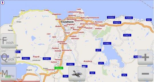 Центральная обл. Норвегии (v.1.0 от 25 ноября 2010г.)