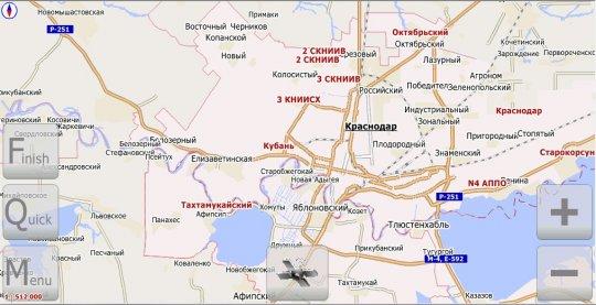 Краснодарский край (v.3.8 от 14 января 2011г.)