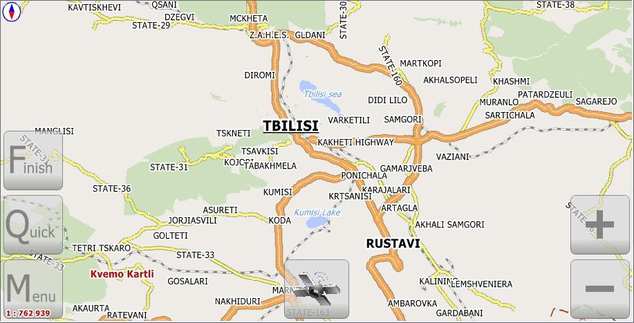 Карта тбилиси скачать на андроид
