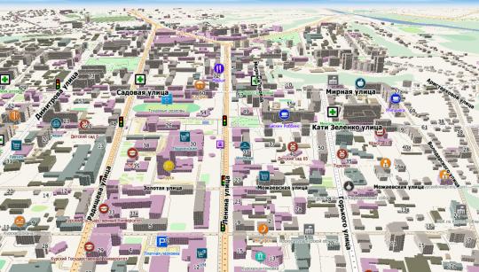 работы карта с улицами и домами Калужской области Вакансии