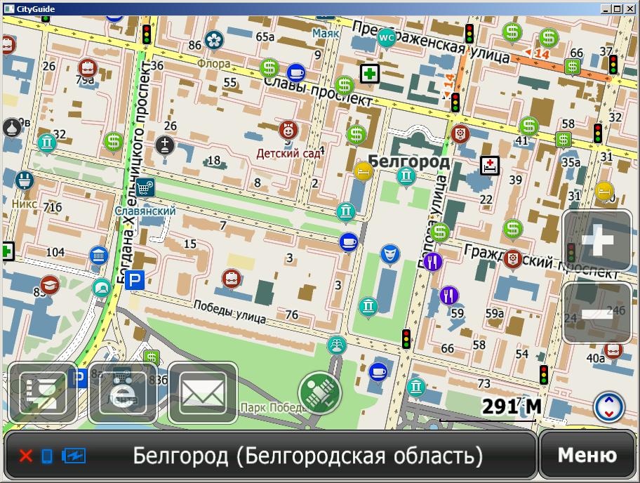 Карты ситигид украина